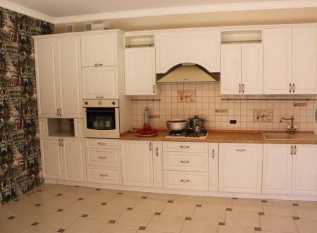 Кухня мдф белое дерево